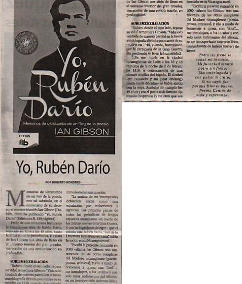 YO, RUBÉN DARÍO