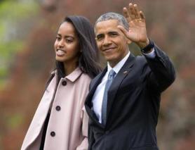 Barack Obama,Malia Obama