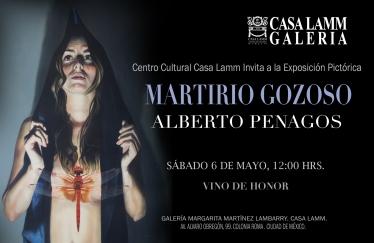 MARTIRIO GOZOSO INVITACIÓN ´SABADO 6 MAYO CASA LAMM
