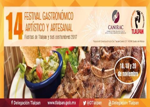 14 FESTIVAL GASTRONÓMICO Y CULTURAL TLALPAN Y SUS COSTUMBRES 2017