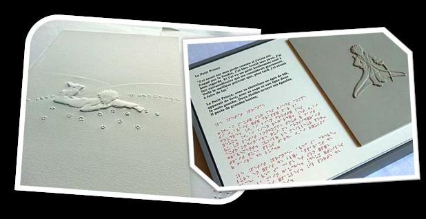 El principito en Braille