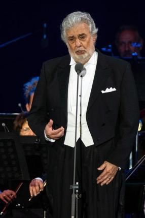 Placido Domingo performs in Hungary