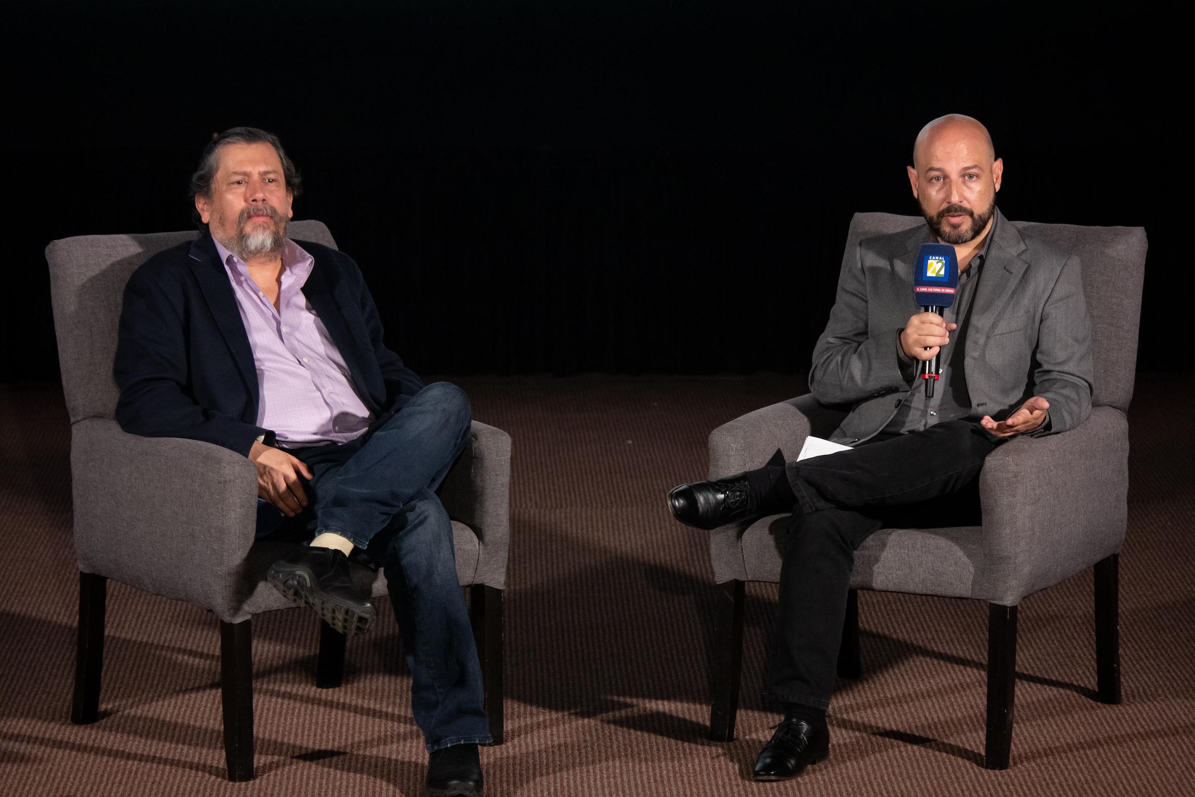 Armando Casas, Dir. Canal 22 y Pedro Kóminik.jpg